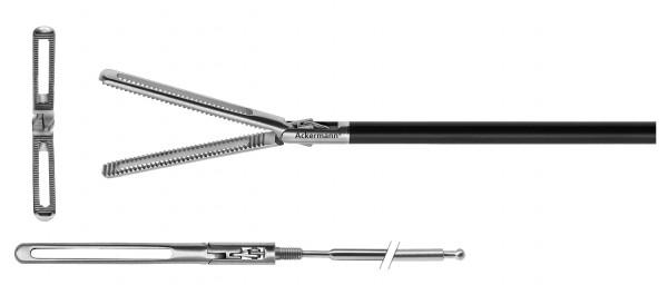 Gefensterter Bowel Greifer, doppelbewegl., Ø 5 mm