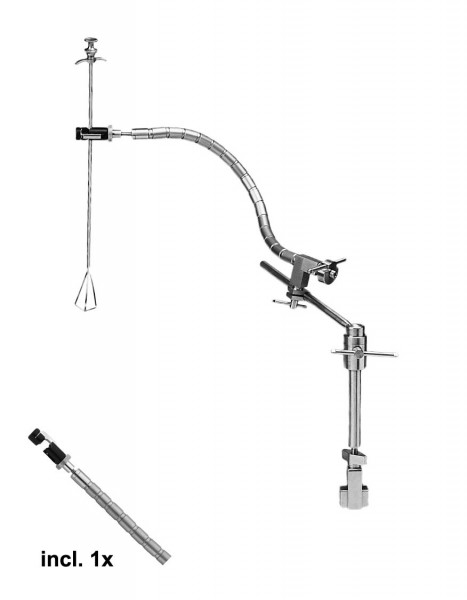 Ackermann-diflex single flexarm system