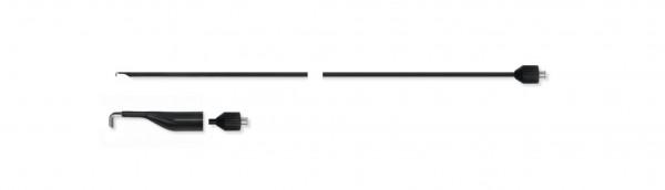 Adaptierbare monopolare Elektrode, L-Haken