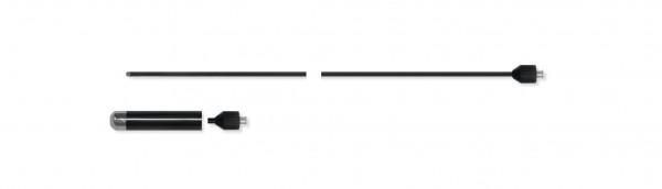 Adaptierbare monopolare Elektrode, Knopf