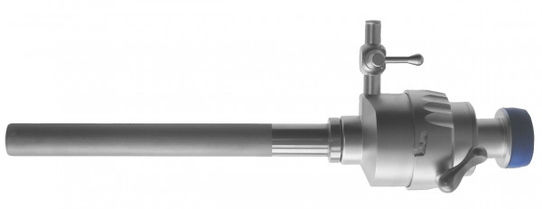 Trocar with multifunctional valve, dismountable
