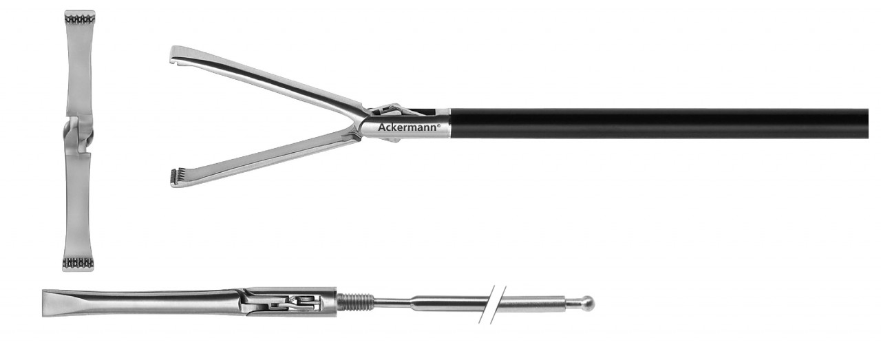 Allis atraumatic grasper, TC, Ø 5 mm
