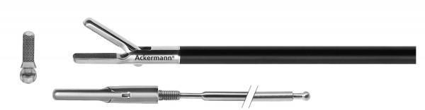Nadelhalter, Diamantzahnung, stumpf, Ø 5 mm
