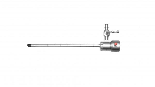 Resektoskopie Schaft ohne Obturator, 1 starrer Hahn