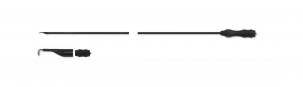 Monopolar electrode, L-Hook