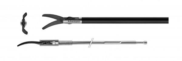 """Metzenbaum, gebogen, keramikbeschichtet, """"Slim Line"""", Ø 5,0mm, Xpress Lock"""