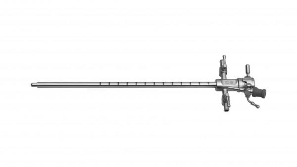 Urethrotom-Schaft mit Obturator, 1 Instrumentenkanal
