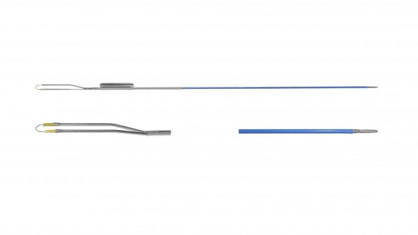 Loop electrode, straight