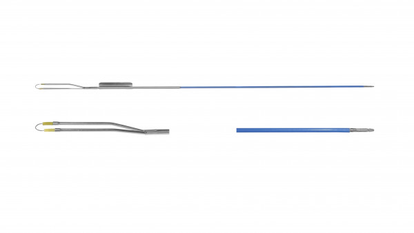Schlingenelektrode, gerade