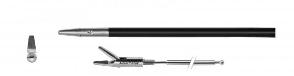 Nadelhalter, gerade, kurz, Ø 5 mm