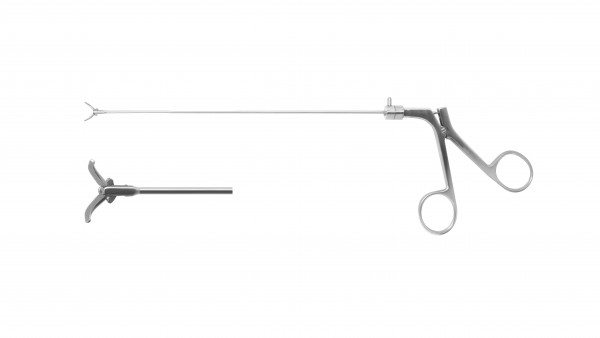 Lanynx forceps, handle on pull