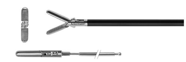 Standard grasper, cross serrated, Ø 5 mm