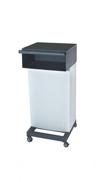 Equipment trolley for HF-unit