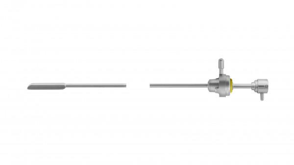 Sichtobturator für Zysto-Urethroskop-Schaft