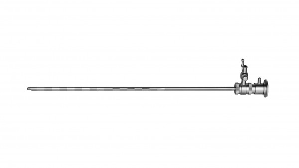 Diagnostic sheath, rotatable stopcock incl. obturator, 30°