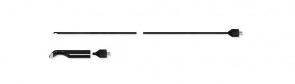 Adaptierbare monopolare Elektrode, Spatel
