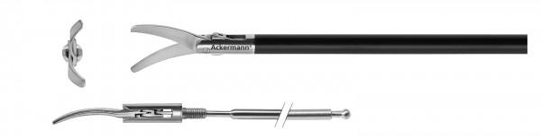 """Metzenbaum Schere, gebogen, """"Slim Line"""", Ø 5 mm"""