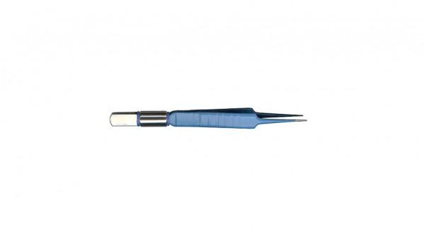 Bipolar forceps, 0.5 mm, straight, 110 mm long