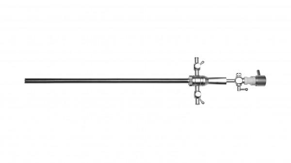 Operationsschaft, 2 Hähne, Ø 2,7mm, 5Fr. Arbeitskanäle