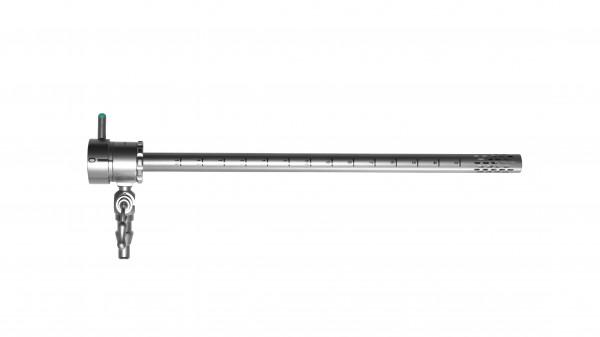 Nephroskopie OP-Schaft, ohne Obturator, mit einem Hahn, drehbar