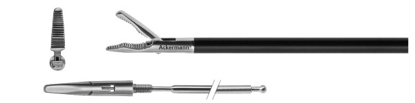 Greifer, wellenförmige Zahnung, plane, Ø 5 mm