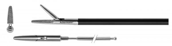 Greifer, einfachbewegl., Diamantzahnung, Ø 5 mm